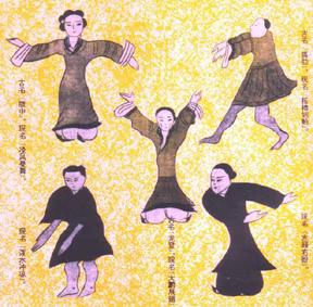 Daoyin Übungen