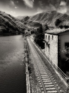 train black and white_s